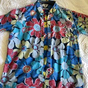 VISSLA Aloha Shirt